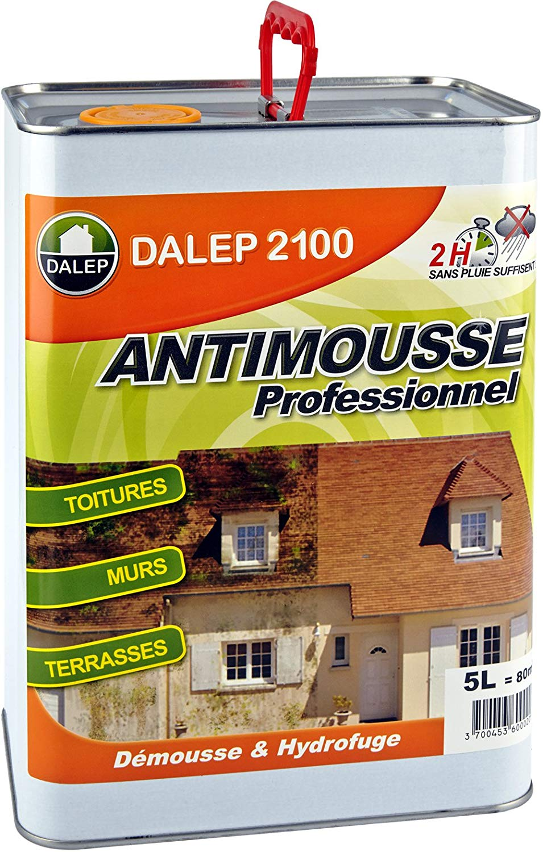 Antimousse Professionnel Concentré DALEP 2100 Bidon de 5 Litres - 121 005