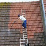sécurité avant de nettoyer sa toiture